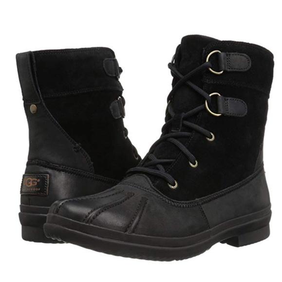 609272ee069 NWB UGG Azaria Winter Boots - Black